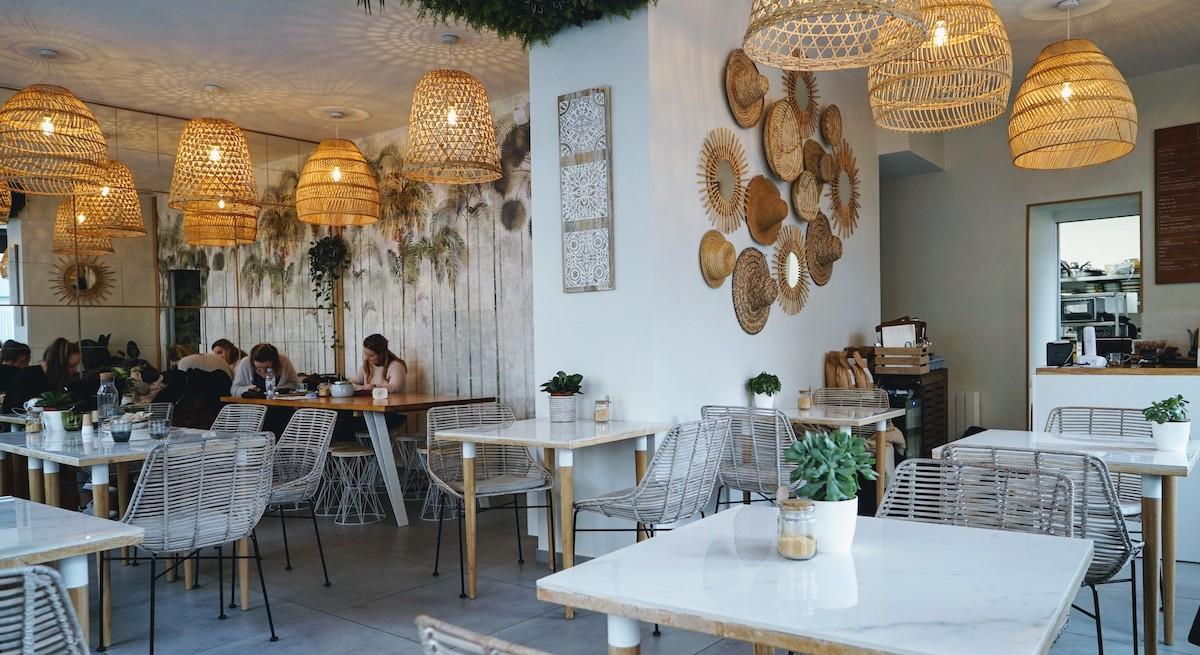 salle du restaurant mowgli à lyon 7