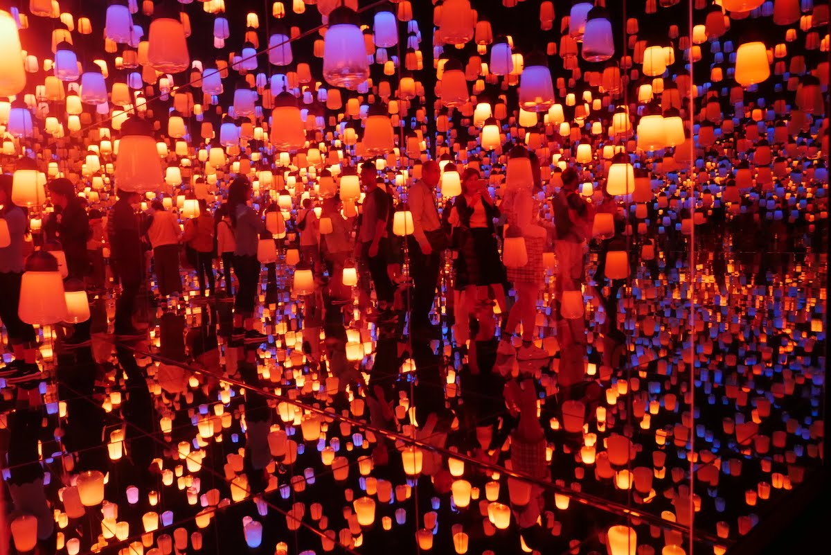 Exposition Teamlab Borderless
