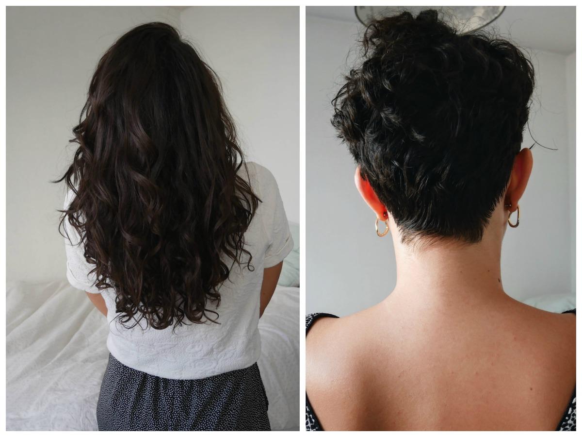 avant après don de cheveux