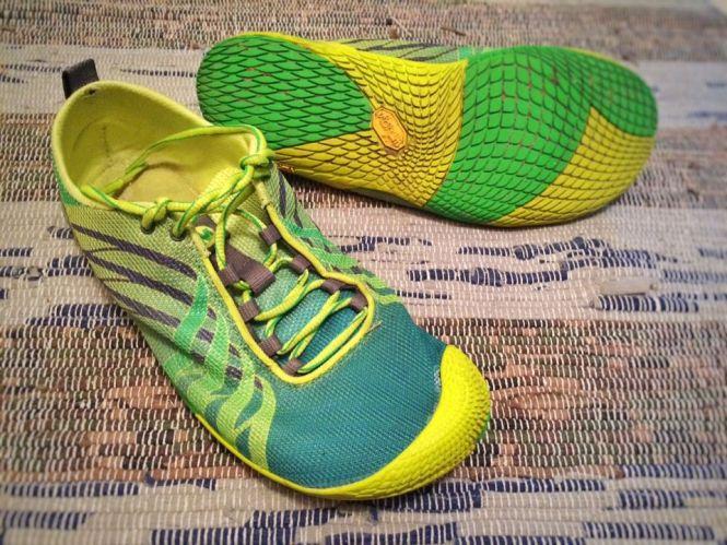 Barefoot Merrell Run Vapor Glove