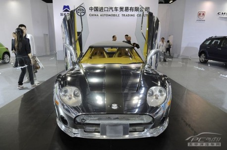 Bespoke Spyker C8 Spyder for China