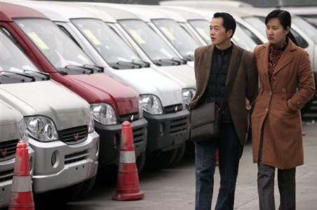 China Auto Sales up 35%
