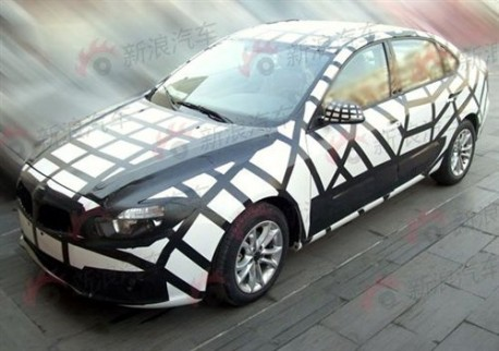 new sedan from Brilliance