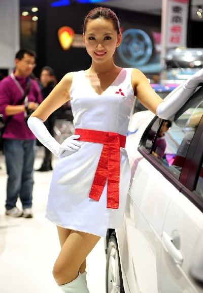 China Auto Showgirls