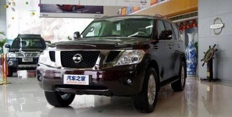 2011 Nissan Patrol in China