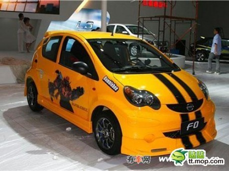 The Bumblebeecars from China  CarNewsChinacom  China Auto News
