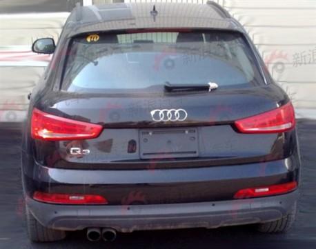 Audi Q3 testing in China
