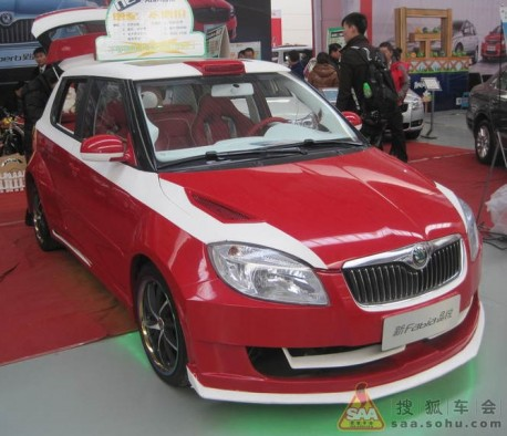 Extreme Tuning from China: Skoda Favia