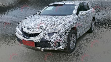 2013 Acura RDX testing in China