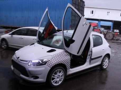 Citroen C2 with Lambo-doors