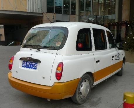 Geely Englon TX4 taxi