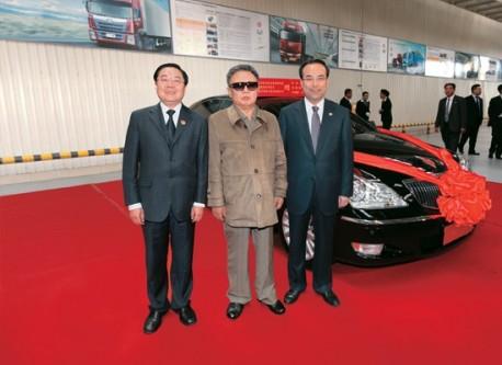 Kim Jong-il Hongqi China
