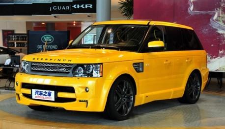 Range Rover 5.0 V8 SC Overfinch 'China Edition'