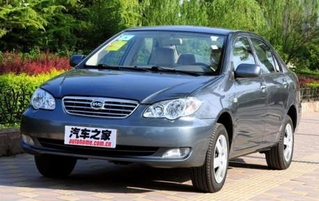 BYD F3 China