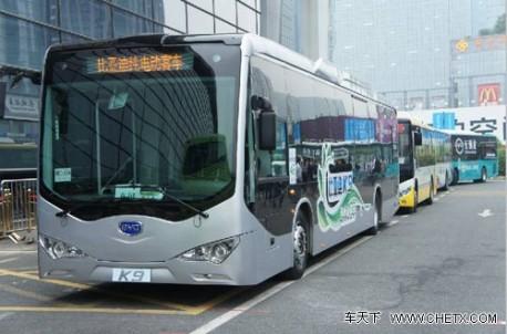 BYD K9 bus