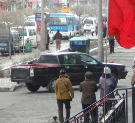 Hongqi Audi-based pickup truck China