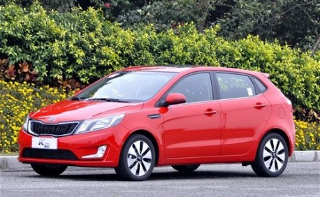 Kia K2 hatchback China
