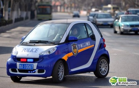 Smart police car from China