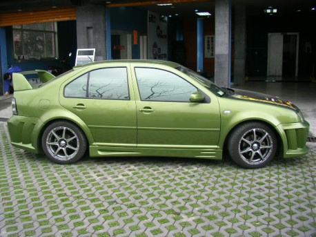 Extreme Tuning from China: Volkswagen Bora
