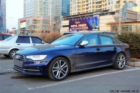 Audi S6 China