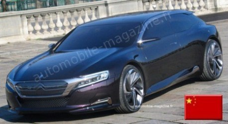 Citroen DS9 heading for Beijing
