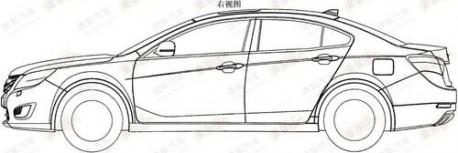 Haima 5 mid-size sedan