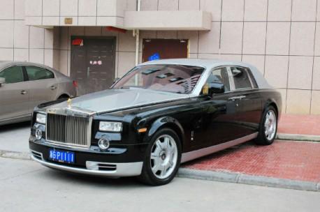 Rolls-Royce Phantom in dual-tone