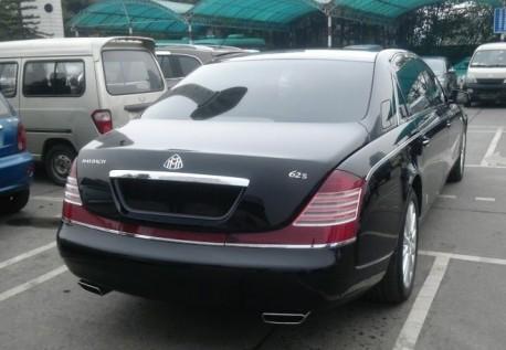 Maybach 62S China