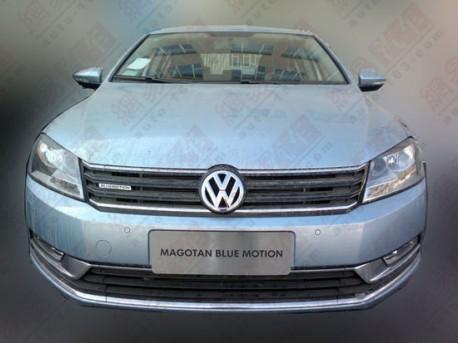 Volkswagen Magotan Blue Motion in China