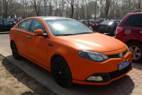 MG6 in matte-orange
