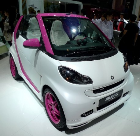 Smart Fortwo Pink Edition
