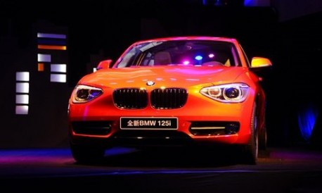 BMW 1-series China
