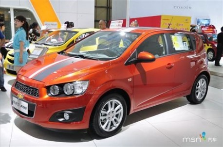 Chevrolet Aveo China