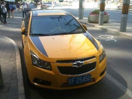Chevrolet Cruze Transformers Edition