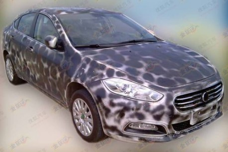 Fiat Viaggio testing in China