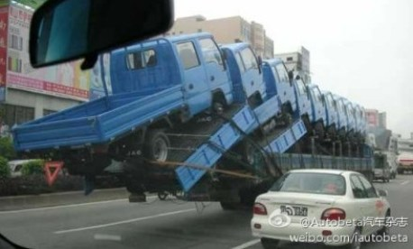 truck transport china