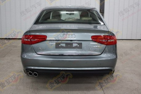 facelifted Audi A4L is ready in China