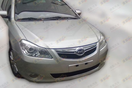 Facelift for the BYD G3 in China