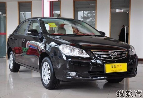 BYD G3 in China
