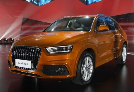 Audi Q3 hits the China auto market
