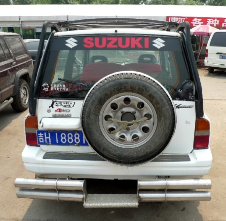 Spotted in China: a very pimped Suzuki Vitara JX