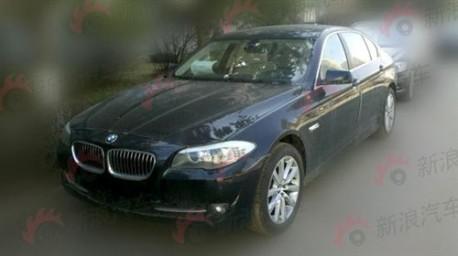 BMW 520Li and 525Li get a 2.0 Turbo in China