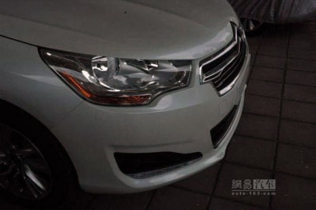 Citroen C4L is naked in China