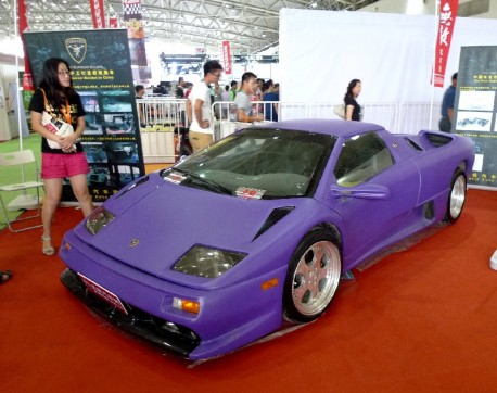 The 'Diablo Auto' Lamborghini Diablo from China