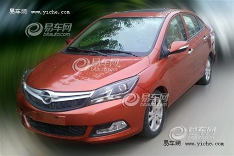 Haima V30 sedan is almost ready in China