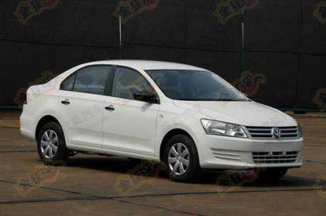 First official picture of the new Volkswagen Santana in China
