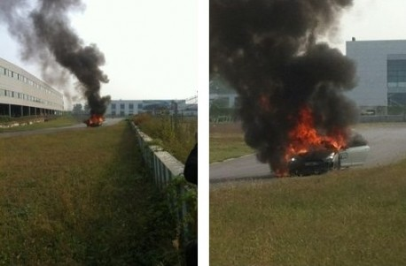 1000hp Nissan GT-R Burns in Beijing