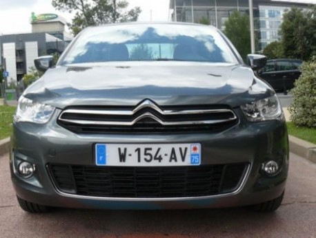 new Citroen c-Elysee