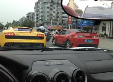 Super Car Super Spot in China