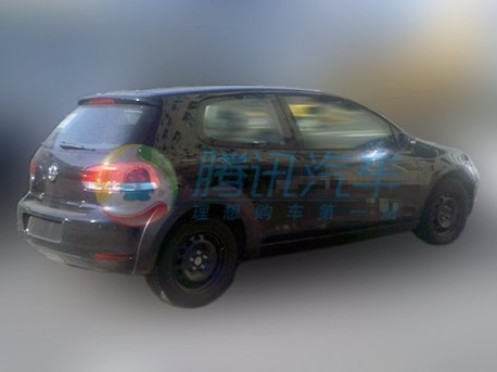 Volkswagen Golf 7 testing in China